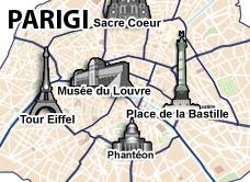Parigi Cartina Monumenti.Hotel Parigi Prenota Subito Hotel A Parigi
